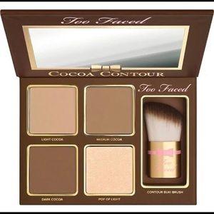NIB 🌟 Too Faced Chiseled Cocoa Contour Palette